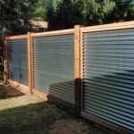 Galvanized Panel Fence